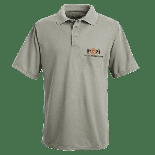 Camisa polo POM e logomarca de Credenciado 9